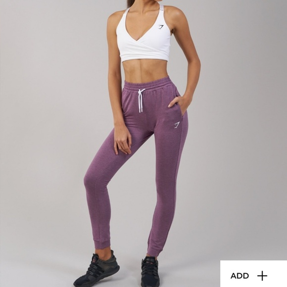 50a44d9233c18f Gymshark Pants | Nwt Solace Joggers Purple Wash | Poshmark